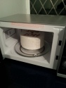 The kiln in the  microwave