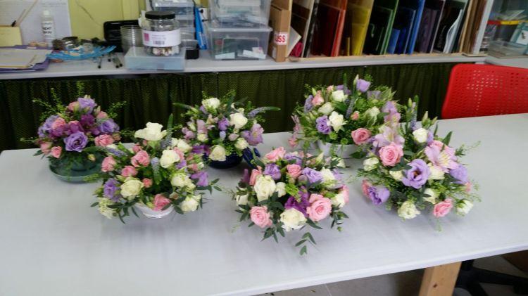 Flower arranging class April 2017