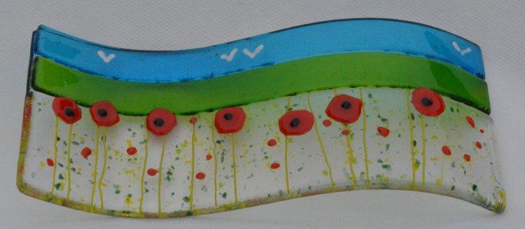 Curve poppy field 1