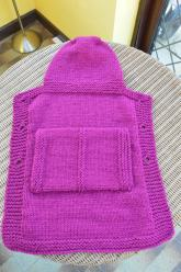 Baby sling cover Brandy Snap 2
