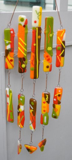 Wind chime Autumn colours 3